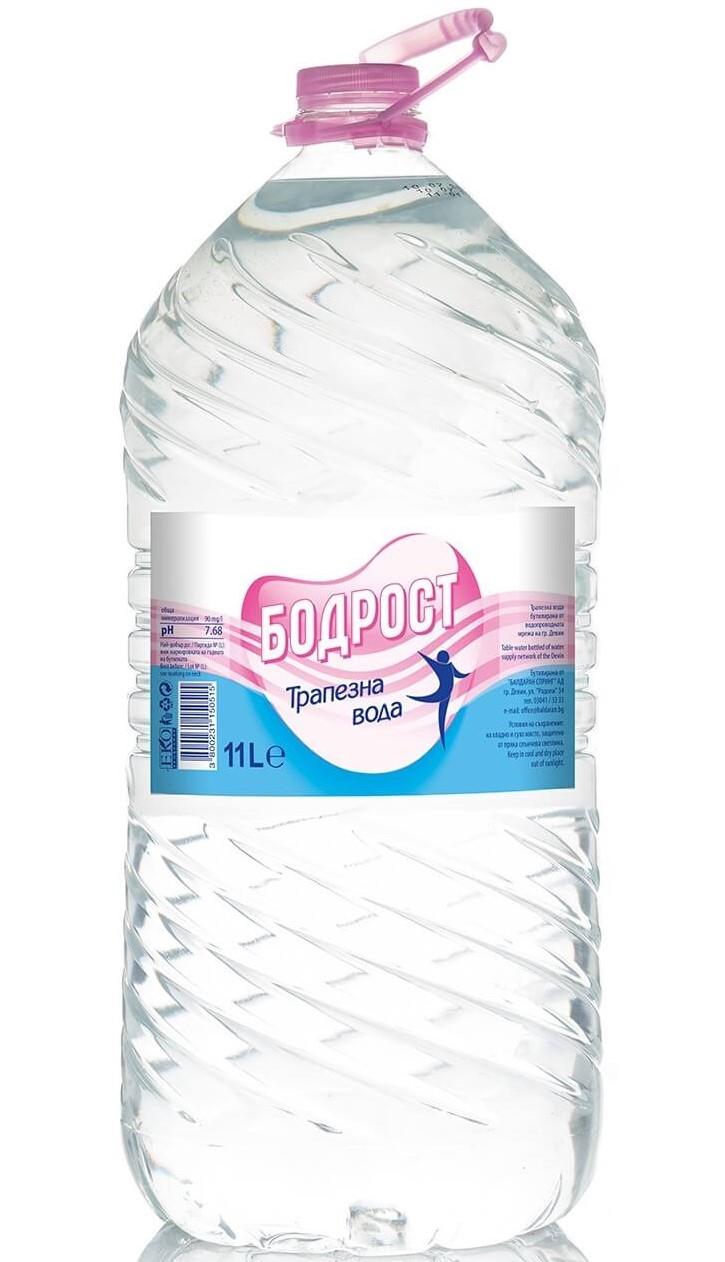 Трапезна Вода Бодрост 11 л