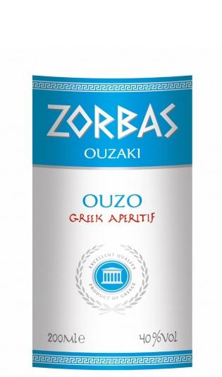 Узо Зорбас 0.2 л