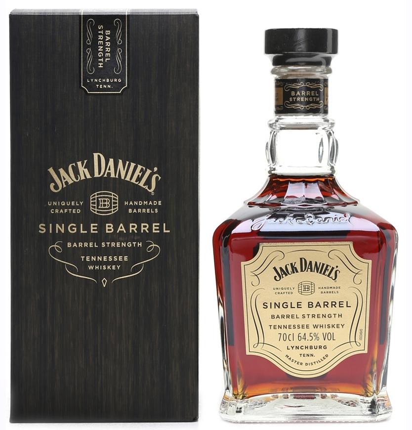 Уиски Джак Даниелс Сингъл Барел Стрeйт 0.7 л в Кутия