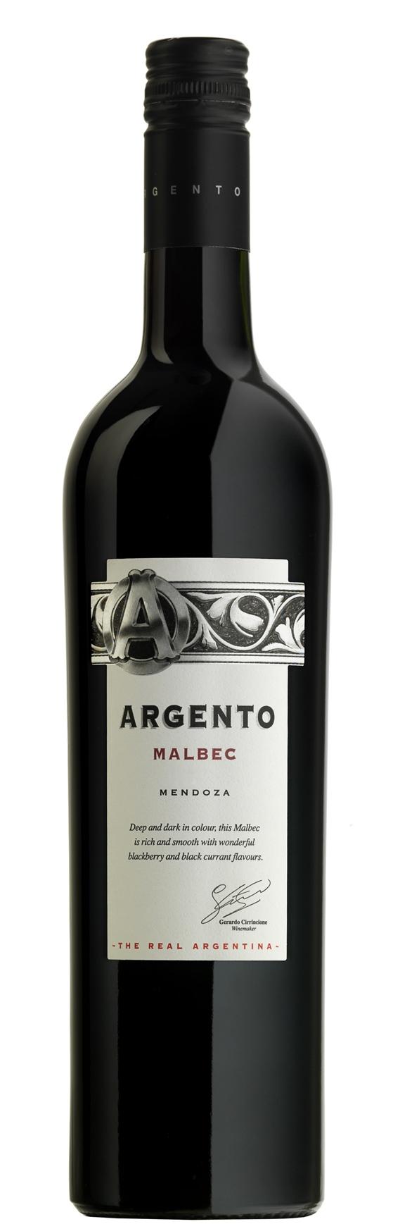 Червено Вино Малбек Ардженто, Мендоса 0.75 л