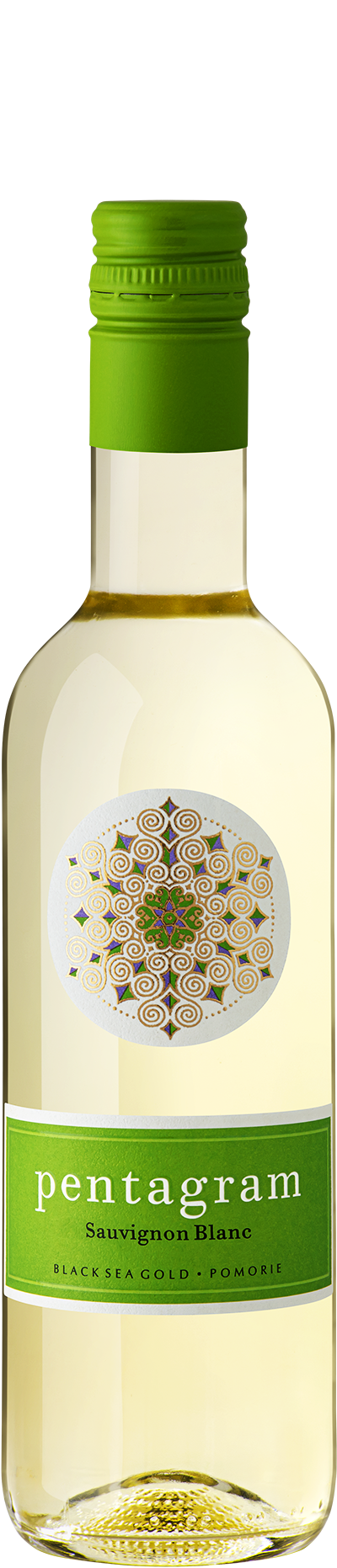 Бяло Вино Пентаграм Совиньон Блан Поморие 0.375 л