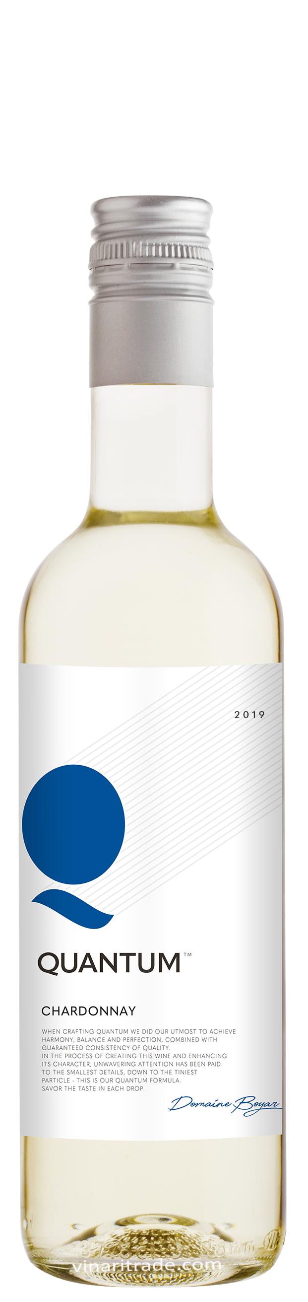 Бяло Вино Шардоне Квантум 0.375 л