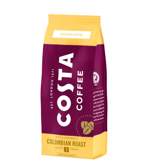 Коста Кафе Колумбия 200 гр Мляно