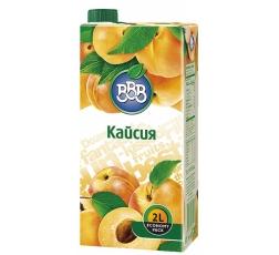 Плодова Напитка ВВВ Кайсия 2 л