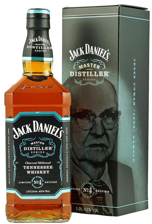 Уиски Джак Даниелс Мастър Дистилър №4 0.7 л