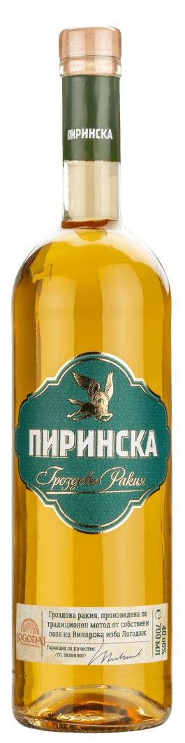Пиринска Гроздова Ракия Логодаж 0.7 л