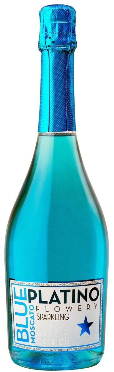 Blue Platinum Moscato 0,75 л. 1+1 /Плащаш една получаваш 2 Бутилки Блу Платино/
