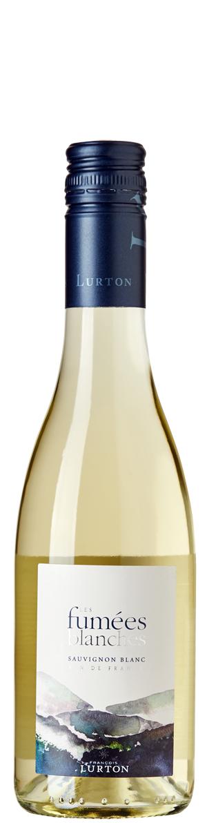 Бяло Вино Ле Фюме Бланш, Совиньон Блан, Франсоа Люртон 0.375 л