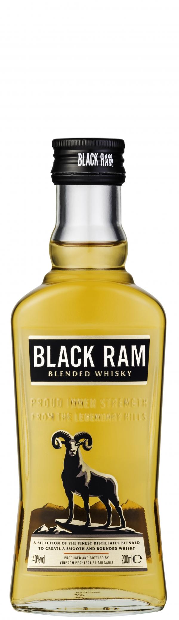Уиски Блек Рам Стъклена Бутилка 0.2 л