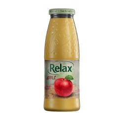 Релакс Ябълка 100% Натурален Сок 0.200 л Стъклена Бутилка