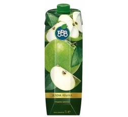 Натурален Сок ВВВ Зелена Ябълка 1 л