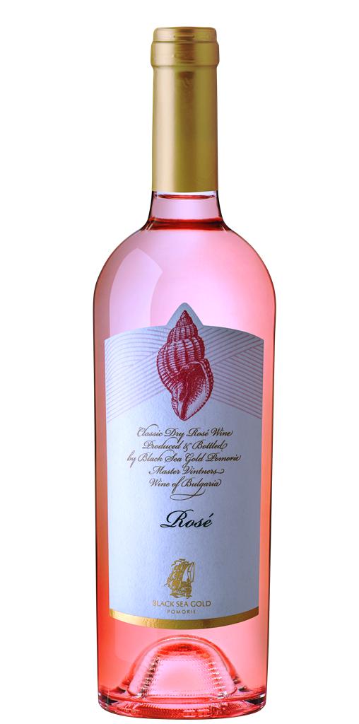 Вино Поморие Раковина Розе от Каберне Совиньон 0.75 л