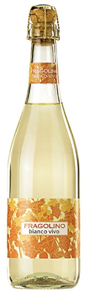 Пенливо Вино Фраголино Бианко 0.75 л