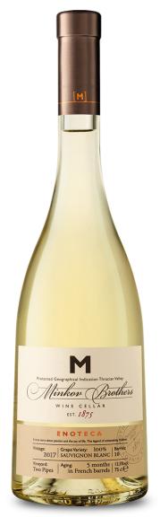 Бяло Вино Братя Минкови Енотека Совиньон Блан 0.75 л