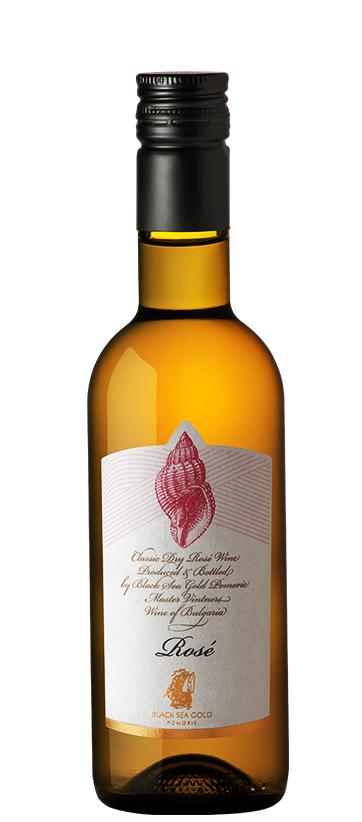 Вино Поморие Раковина Розе от Каберне Совиньон 0.250 л
