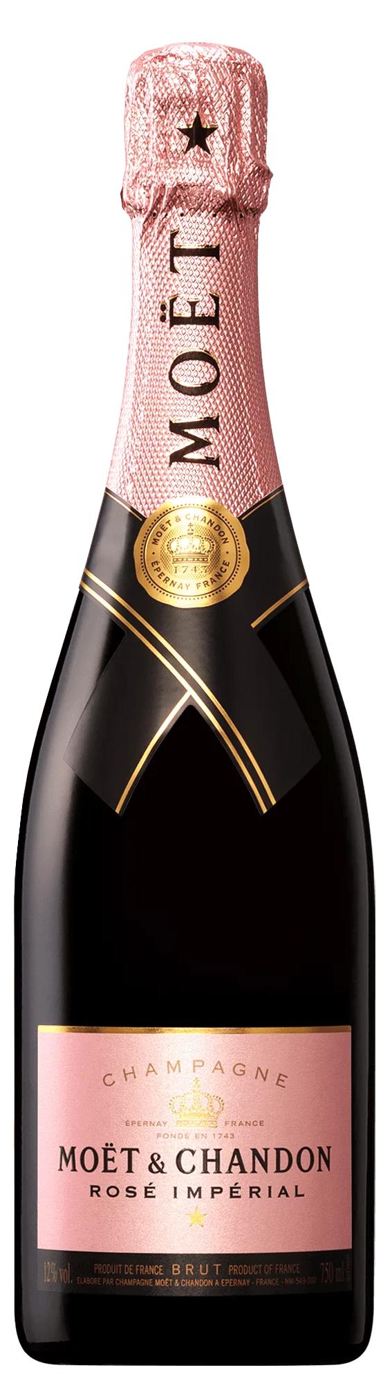Шампанско Моет Шандон Империал Розе 0.75 л