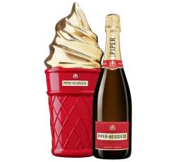 Шампанско Пайпър Хайдсик 0.75 л в Кутия Айс Крийм