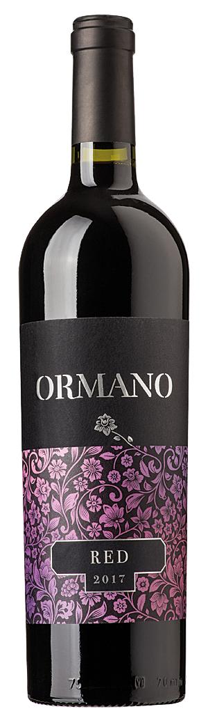 Червено Вино Ормано Каберне Совиньон 0.75 л