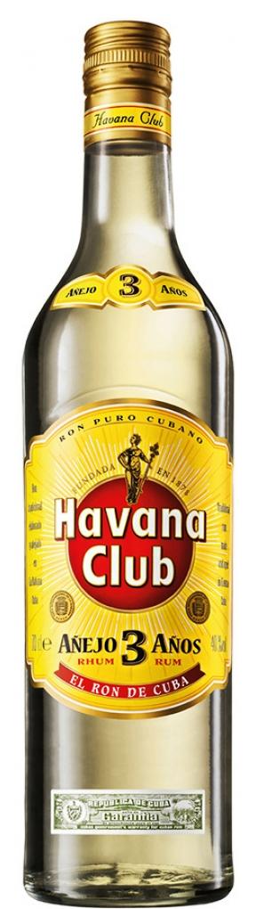 Ром Хавана Клуб 3 годишен Бял 0.7 л