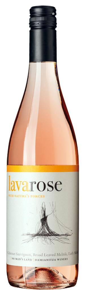 Вино Лава Розе Ничия Земя 0.75 л