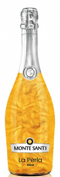 Пенливо Вино Монте Санти Ла Перла Голд 0.75 л
