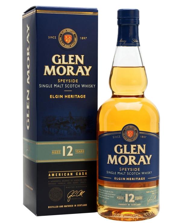 Уиски Глен Морей 12 годишен 0.7 л