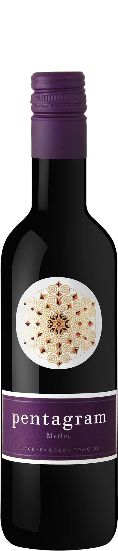 Червено Вино Пентаграм Мерло Поморие 0.375 л