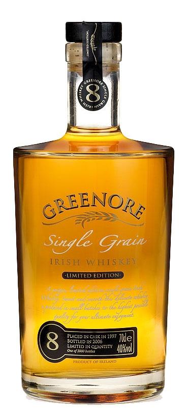 Уиски Грийнор Сингъл Грейн 8 год. 0.7 л