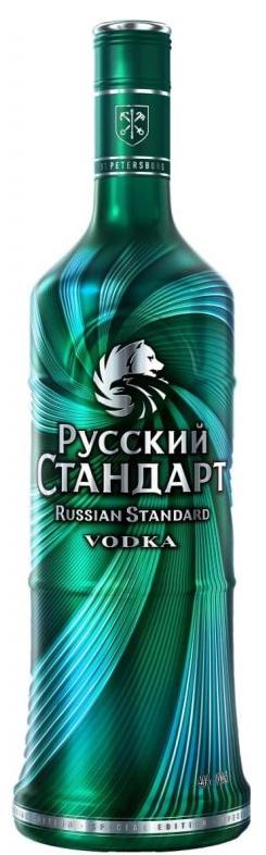 Водка Руски Стандарт Тъмно Зелен 1 л