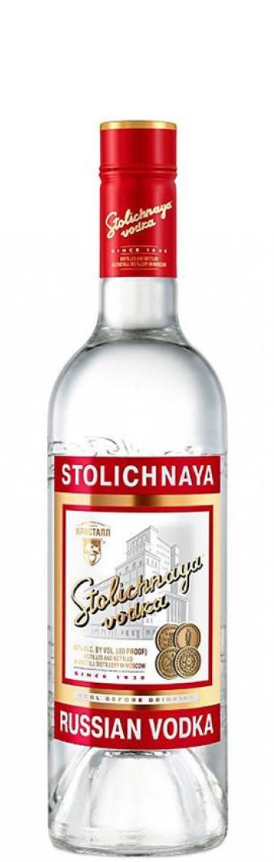 Водка Столичная 0.5 л