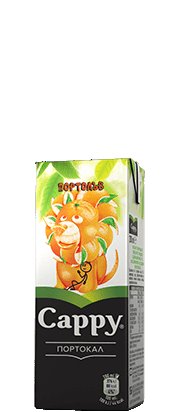 Натурален Сок Капи Портокал 50% 0.2 л