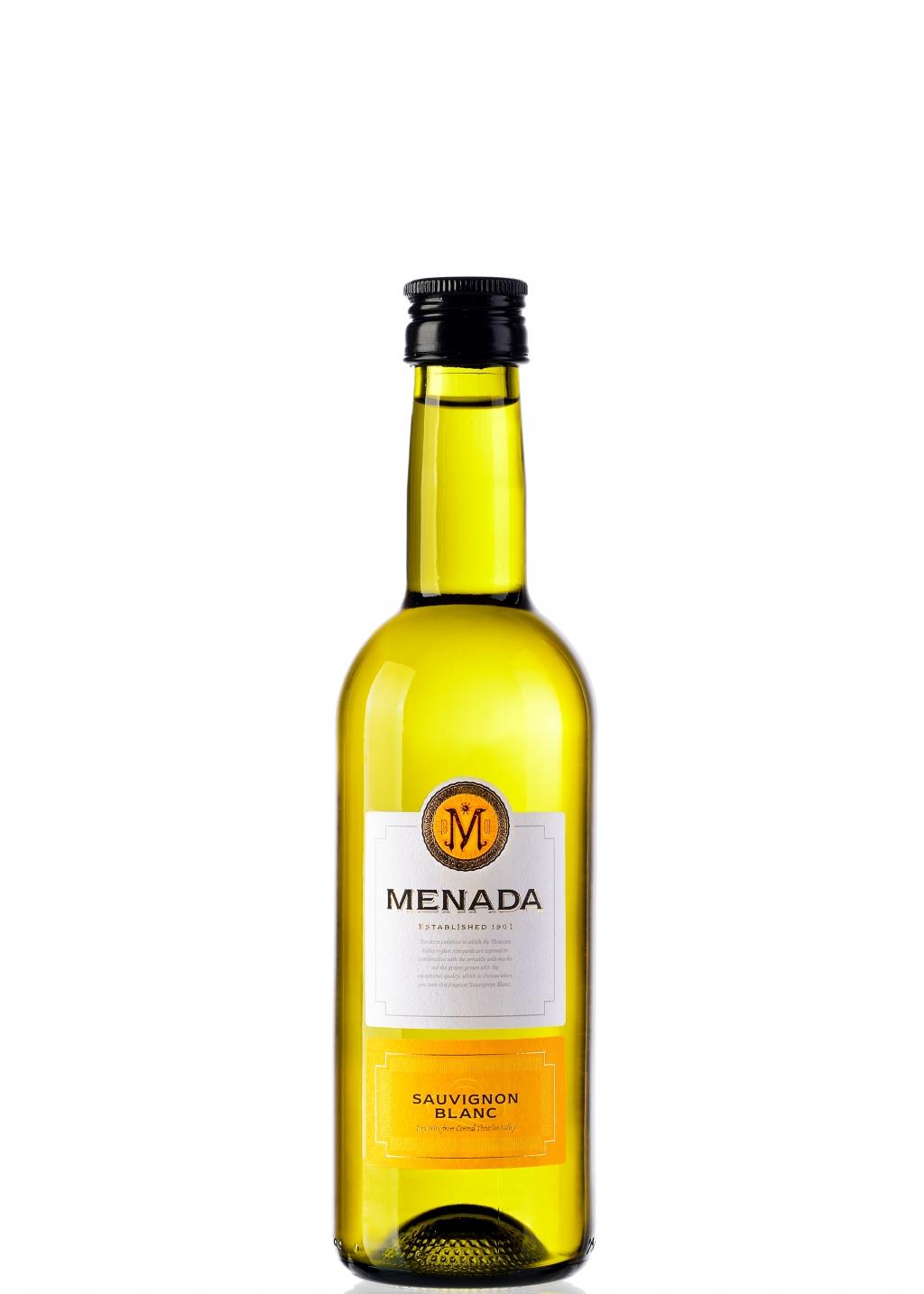 Бяло Вино Менада Совиньон Блан 0.250 л