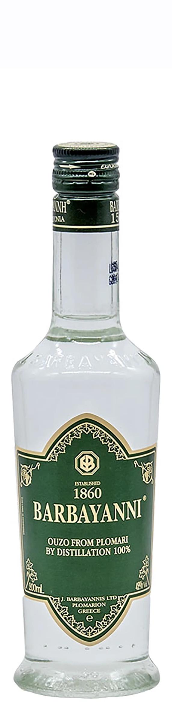 Узо Барбаяни Зелен Етикет 0.2 л