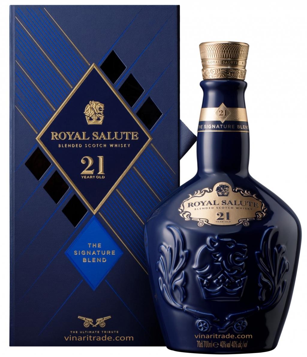 Уиски Роял Салют 21 годишен 0.7 л