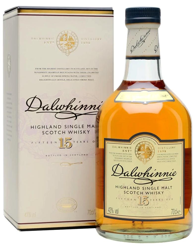 Уиски Далуини 15 годишно 0.7 л