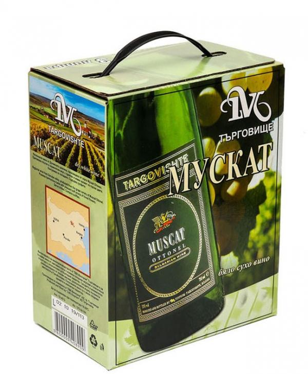 Бяло Вино Мускат Търговище 5 л