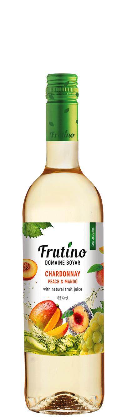 Бяло Плодово Вино Фрутино Шардоне Праскова и Манго 0.375 л