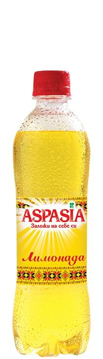 Газирана Безалкохолна Напитка Аспазия Лимонада 0.5 л