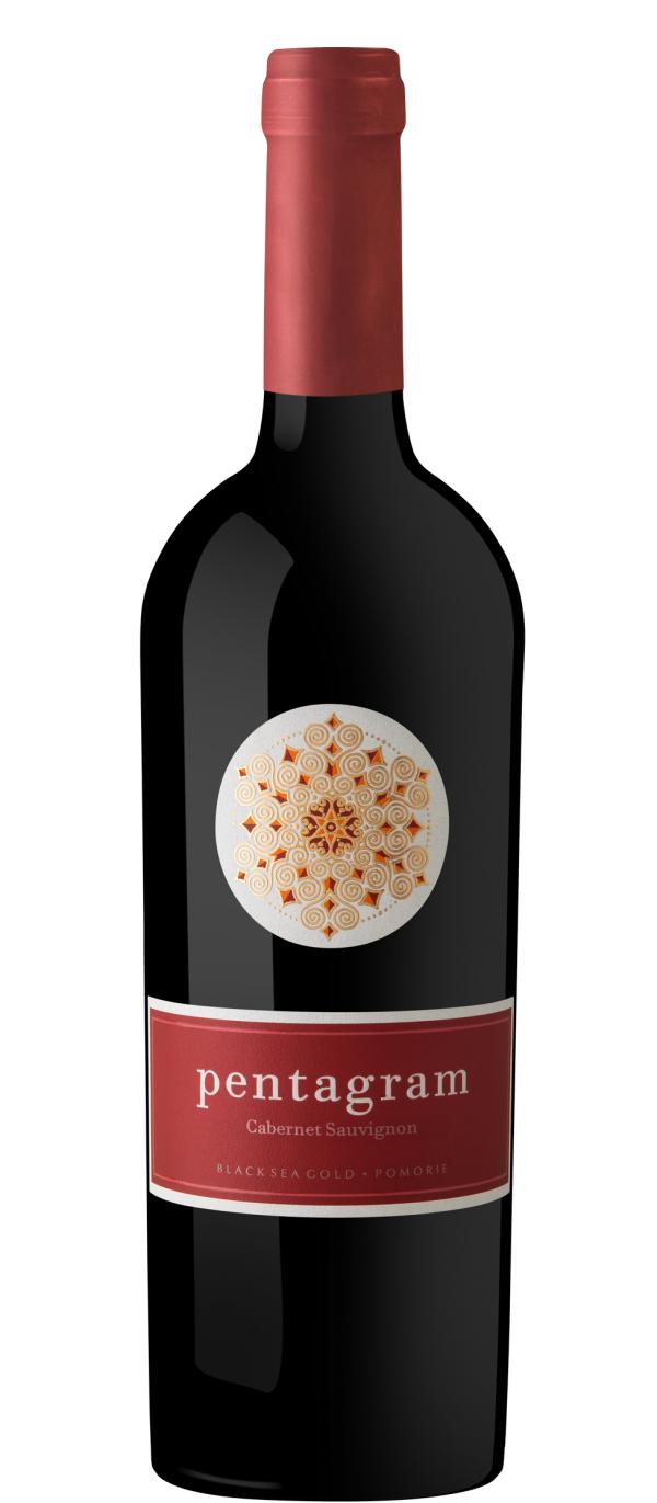 Червено Вино Пентаграм Каберне Совиньон Поморие 0.75 л