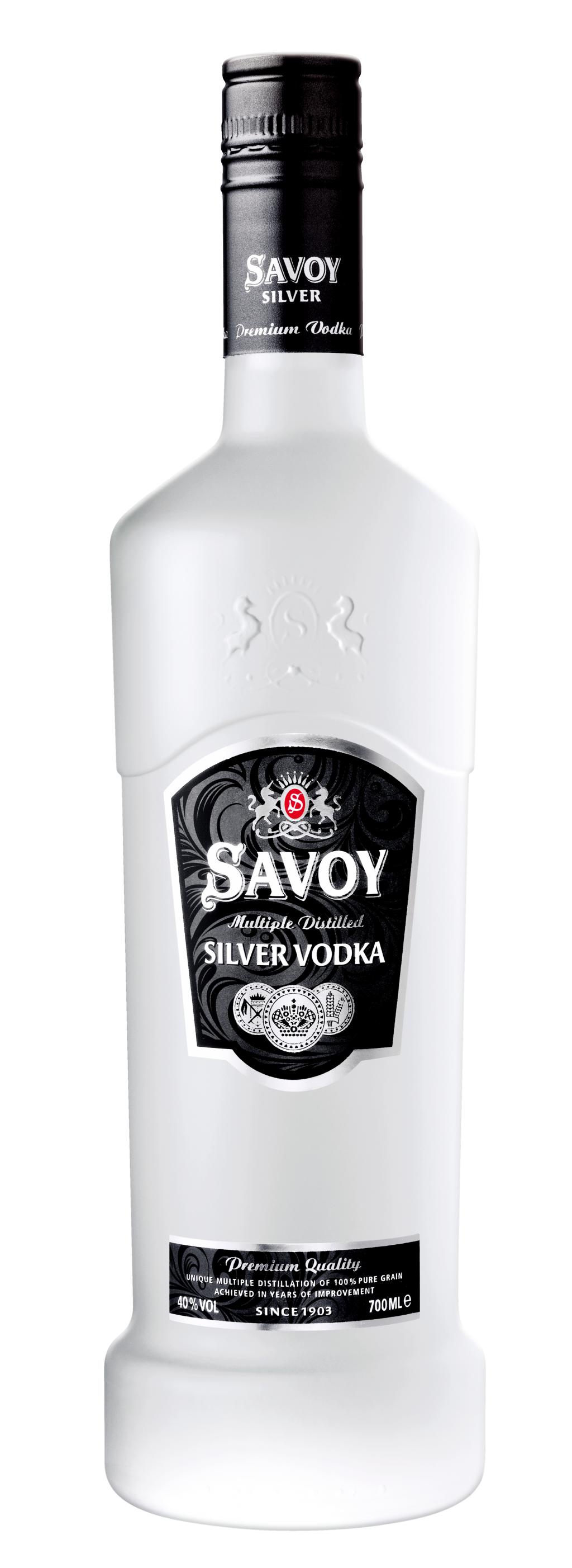 Водка Савой Силвър 0.7 л