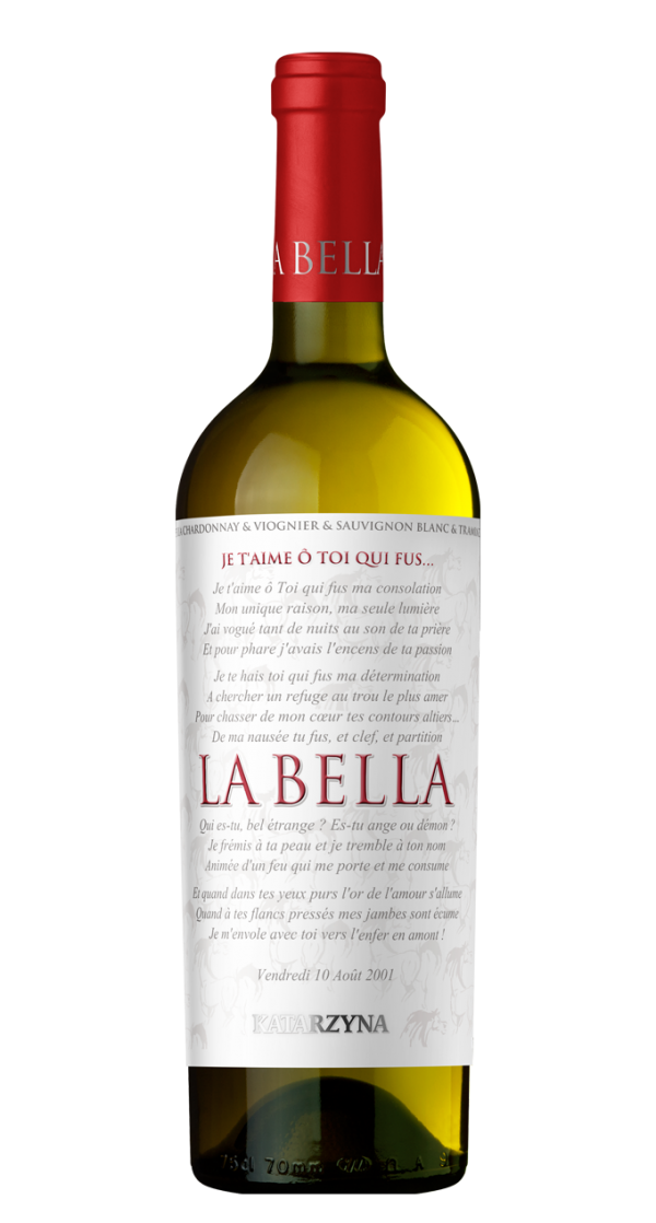 Бяло Вино Ла Белла Катаржина 0.75 л