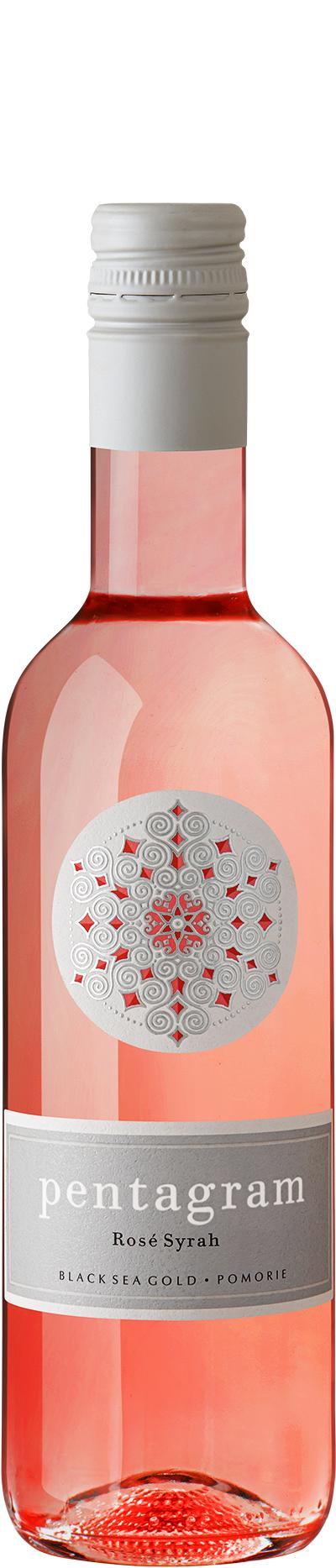 Вино Пентаграм Розе Поморие 0.375 л