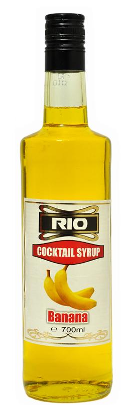 Рио Сироп Банан 0.7 л