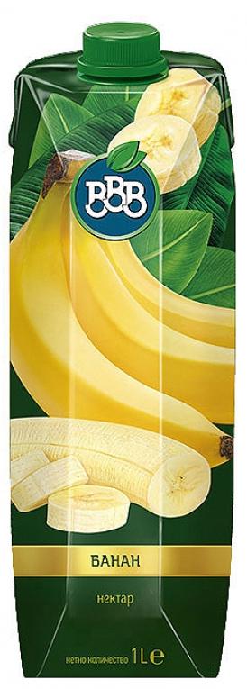 Натурален Сок ВВВ Банан 1 л