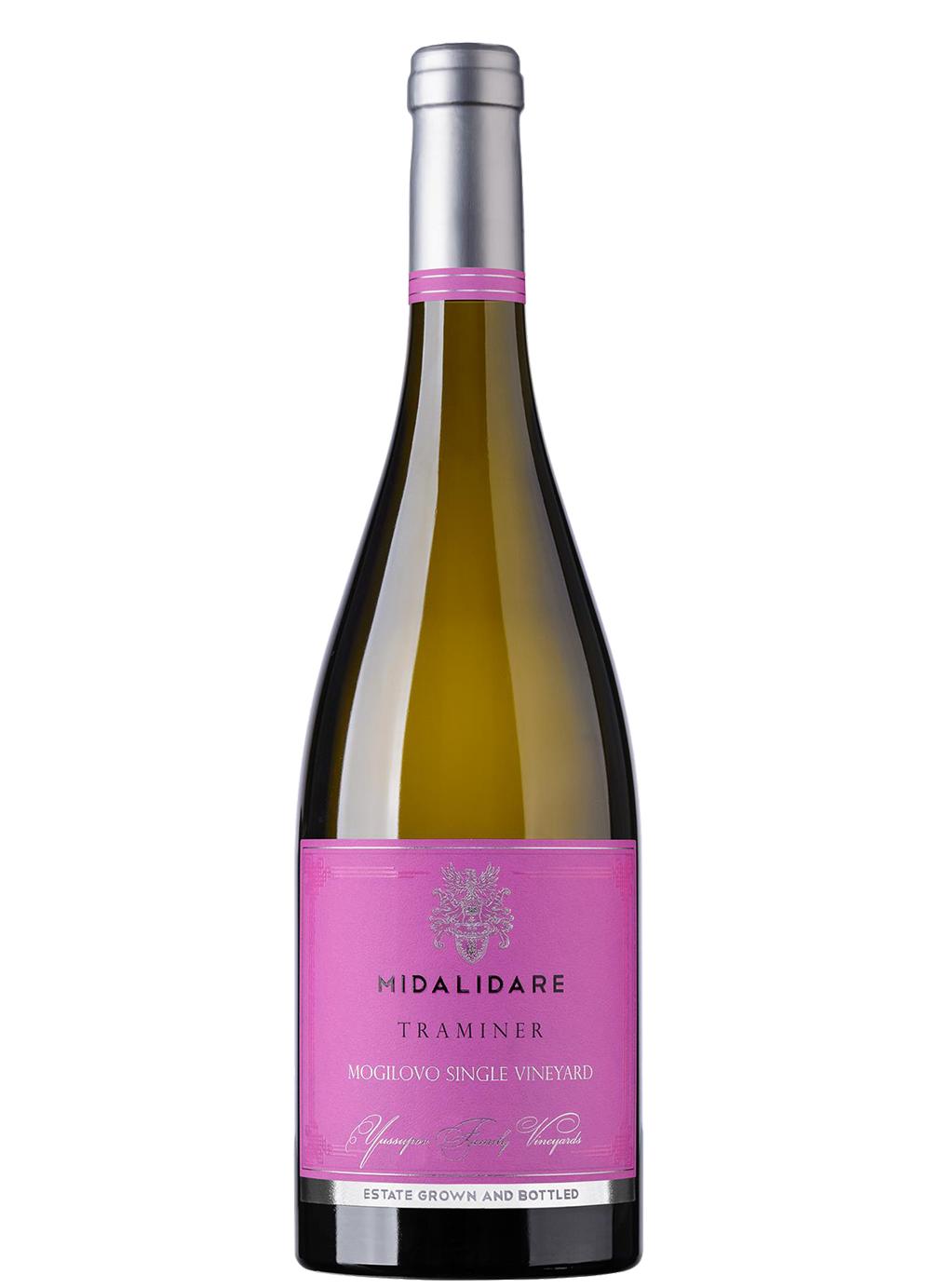 Бяло Вино Мидалидаре Траминер 0.75 л