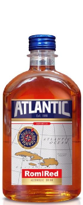 Ром Атлантик Червен 0.5 л