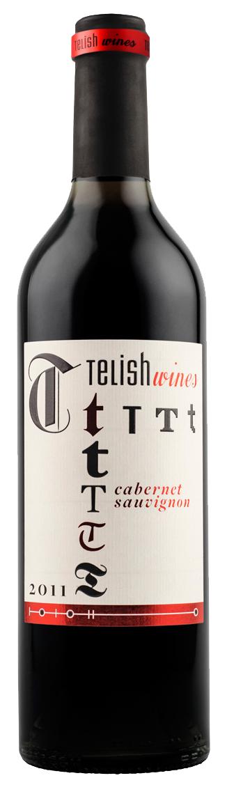 Червено Вино Телиш Каберне Совиньон 0.75 л