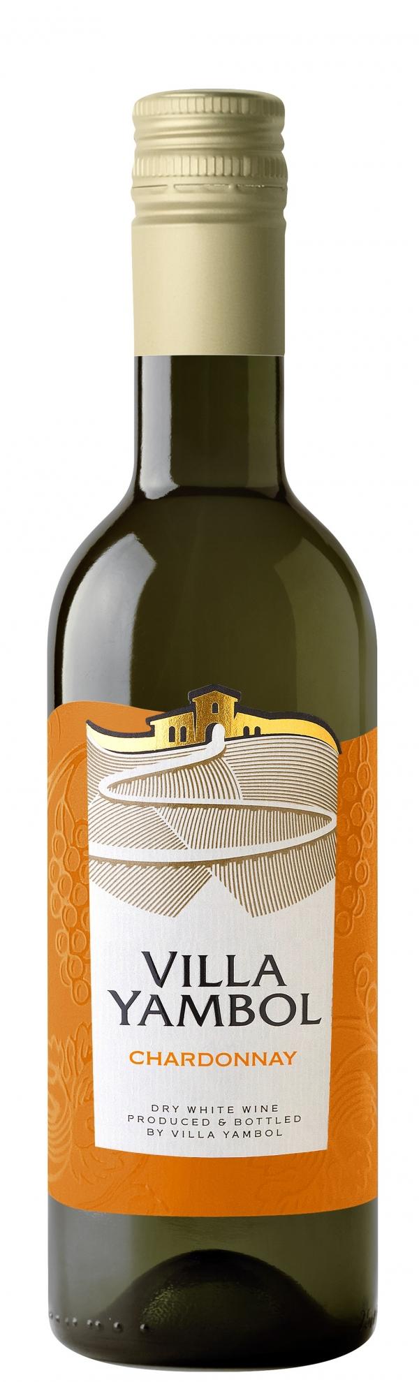 Бяло Вино Вила Ямбол Шардоне 0.250 л