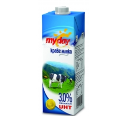 Май Дей Мляко 3% 1 л