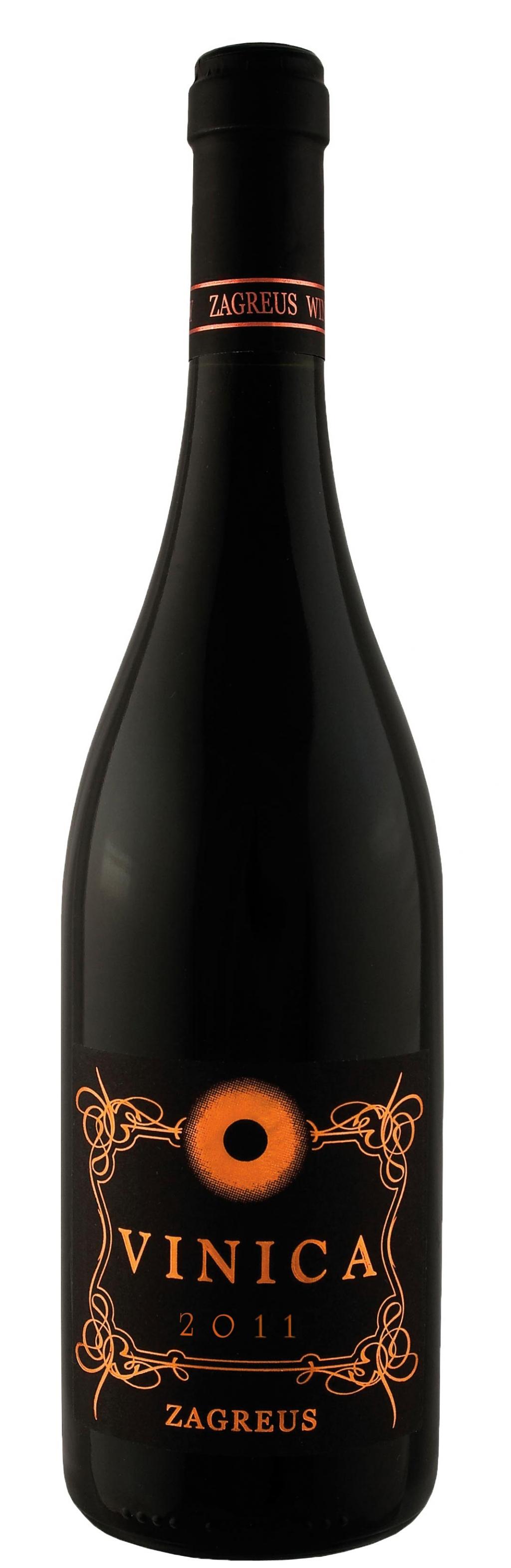 Червено Вино Загрей Виница Мавруд 0.75 л